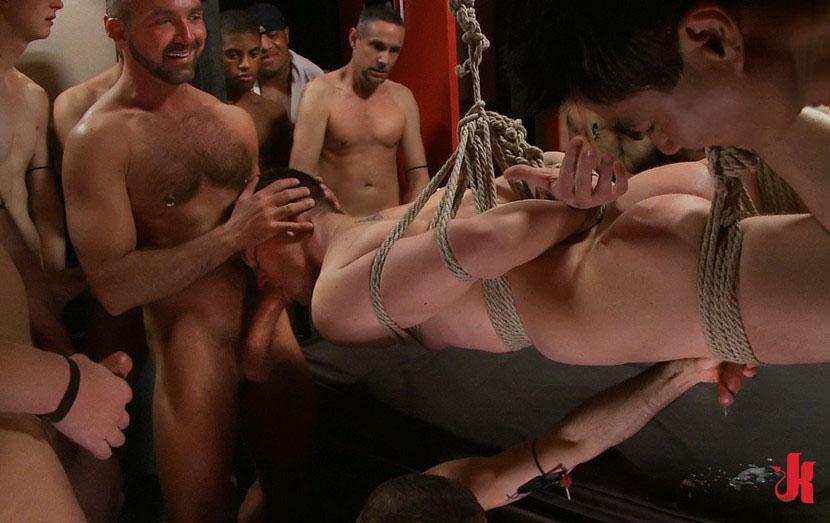 Gay threesome bondage sex slaves, milfhunter hunting for cock