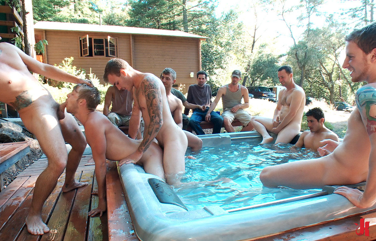 image Outdoor gang gay twink xxx in this week out